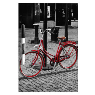 The red bicycle Dry-Erase board