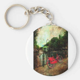 The Red Bicycle Keychain