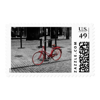 The red bicycle postage
