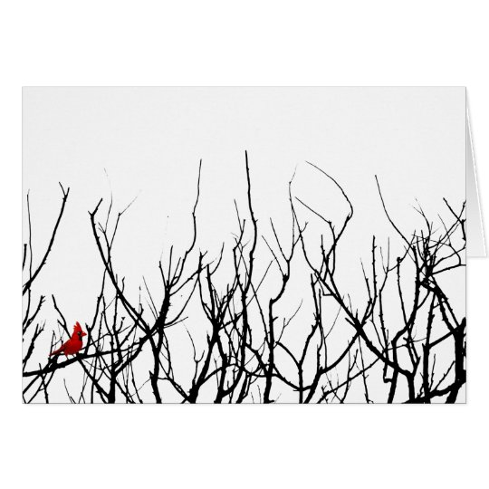 The Red Bird by Leslie Peppers Card