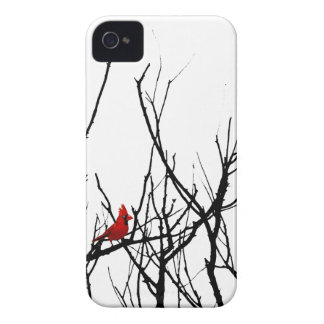 The Red Bird by Leslie Peppers iPhone 4 Cover