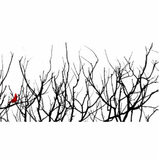 The Red Bird by Leslie Peppers Cutout