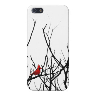 The Red Bird by Leslie Peppers Case For iPhone 5/5S