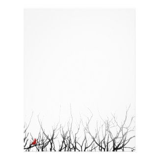 The Red Bird by Leslie Peppers Letterhead