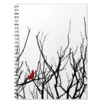 The Red Bird by Leslie Peppers Note Book