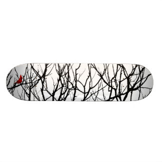 The Red Bird by Leslie Peppers Skateboard