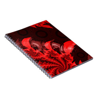 The Red, Black, and Bladed Garra del Diablo Notebook