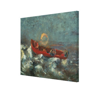 The Red Boat, 1905 Canvas Print