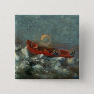 The Red Boat, 1905 Pinback Button