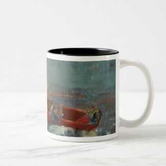 The Red Boat, 1905 Two-Tone Coffee Mug