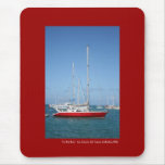 The Red Boat Mouse Pads