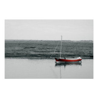 THE RED BOAT POSTER
