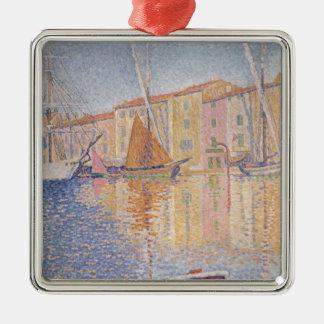 The Red Buoy, Saint Tropez, 1895 Metal Ornament