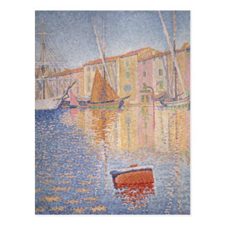 The Red Buoy, Saint Tropez, 1895 Post Card