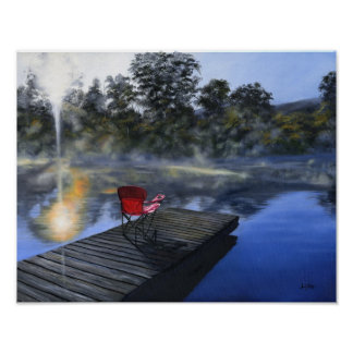 The Red Chair Customizable Art Print