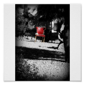 The Red Chair Print