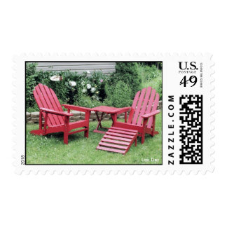 'The Red Chairs' Postage