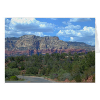 The Red Cliffs of Sedona--Card Greeting Card