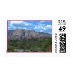 The Red Cliffs of Sedona--Stamp