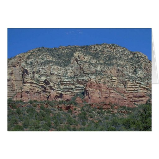 The Red Cliffs of Sedona (Two) -- Card