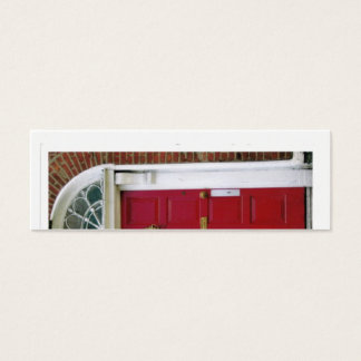 The Red Door Mini Business Card