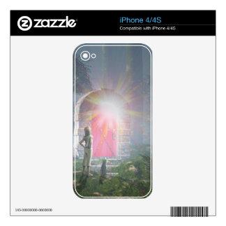 The Red Door Skin For iPhone 4
