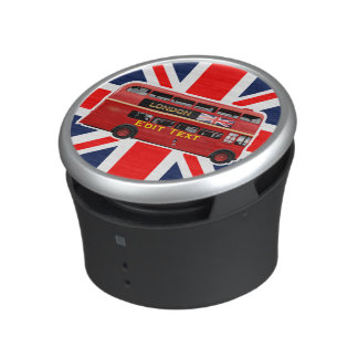 The Red Double-Decker London Bus Bluetooth Speaker