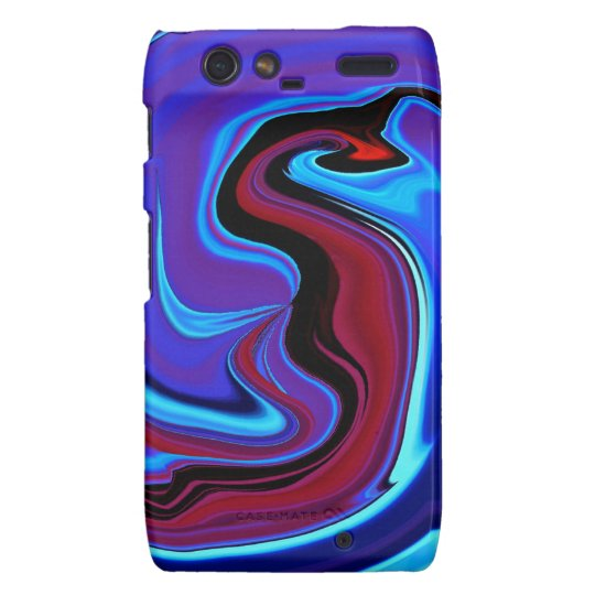 The Red Dragon Abstract Droid RAZR Case