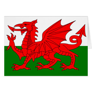 The Red Dragon [Flag of Wales] Greeting Card