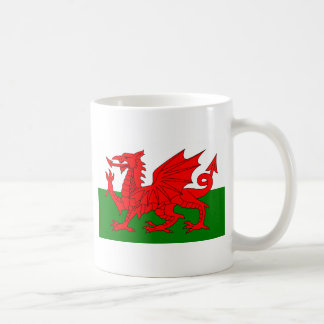 The Red Dragon [Flag of Wales] Classic White Coffee Mug