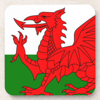The Red Dragon [Flag of Wales] Coaster