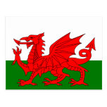 The Red Dragon [Flag of Wales] Post Cards