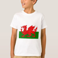 The Red Dragon [Flag of Wales] T-Shirt