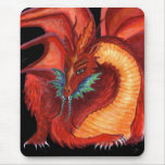 The Red Dragon Mouse Pad