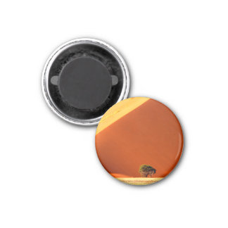The red dunes of Sossusvlei 1 Inch Round Magnet