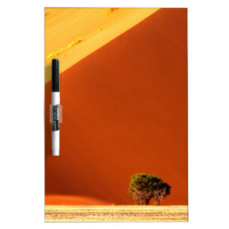 The red dunes of Sossusvlei Dry Erase Board