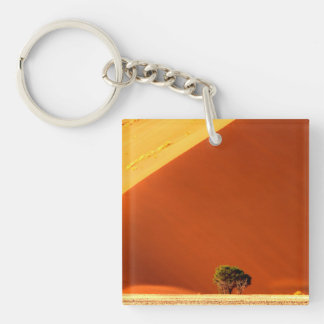 The red dunes of Sossusvlei Keychain