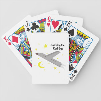 The Red Eye Bicycle Playing Cards