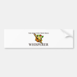 The Red-Eyed Tree Frog Whisperer Bumper Sticker