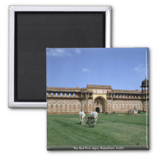 The Red Fort, Agra, Rajasthan, India Magnet