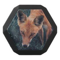The Red Fox Black Bluetooth Speaker