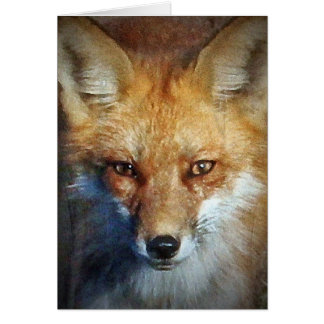 The Red Fox Gifts & Greetings Card
