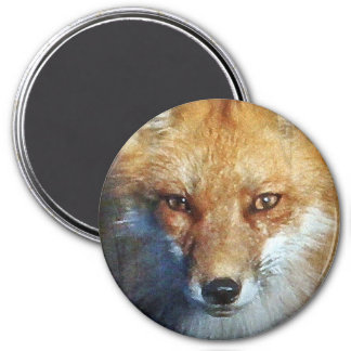 The Red Fox Gifts & Greetings Fridge Magnet