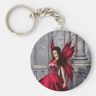 The Red Glamour Fairy Keychain