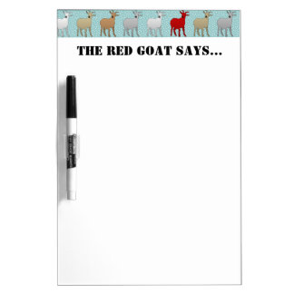 The Red Goat Dry-Erase Whiteboard