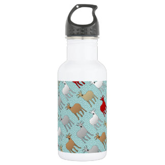 The Red Goat Stainless Steel Water Bottle