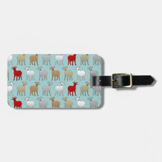 The Red Goat Tag For Luggage