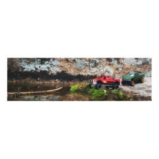 The Red Green Trail Panel Wall Art