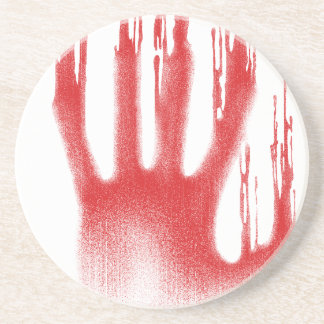 The Red Hand Coaster