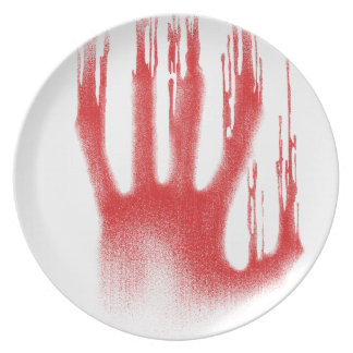 The Red Hand Dinner Plate